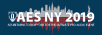 AES New York 2019 Pro Audio Convention logo